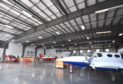 REACH Air Medical Services Hangar Charles Schultz Sonoma County Airport Santa Rosa, California