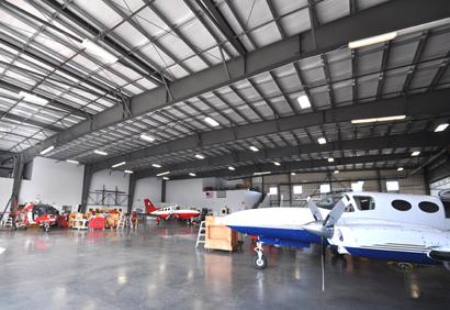 REACH Air Medical Services Hangar Charles Schultz Sonoma County Airport Santa Rosa, California