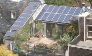 Solar PV installation in Pacific Heights